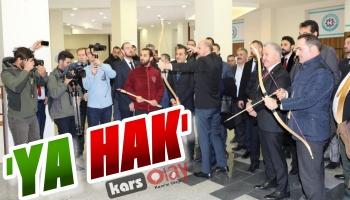 Bilal Erdoğan Kars'ta Ok Attı