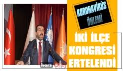 AK Parti İlçe Kongreleri Koronavirüs Nedeniyle Ertelendi