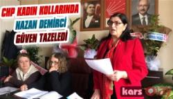 CHP Kars Kadın Kolları Başkanı Nazan Demirci Güven Tazeledi