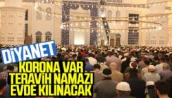 Ramazan Ayında Teravih Namazları Evde Kılınacak