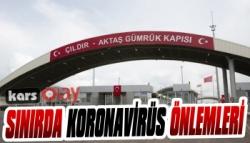 Sınırda Koronavirüs Önlemleri