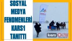Sosyal Medya Fenomenleri Kars'ı Tanıttı