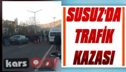 Susuz'dda Trafik Kazası: 1 Öğrenci Yaralı