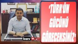 Tolga Adıgüzel: 'Türk'ün Gücünü Göreceksiniz!'