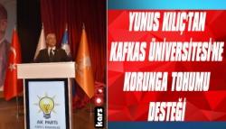 Yunus Kılıç Kafkas Üniversitesi'ne 7.5 Ton Tohum Gönderdi