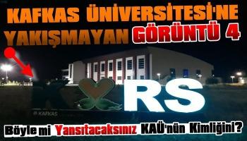 Kafkas Üniversitesi'ne Yakışmayan Görüntü!