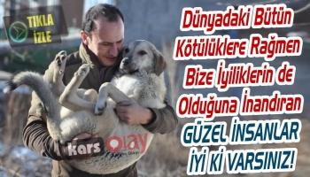 Kars'ta Hayatını Sokak Köpeklerine Adayan Banka Müdürü