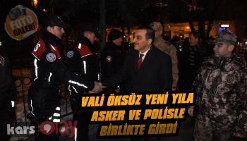 Vali Türker Öksüz'den Yılbaşında Jandarma ve Polislere Ziyaret
